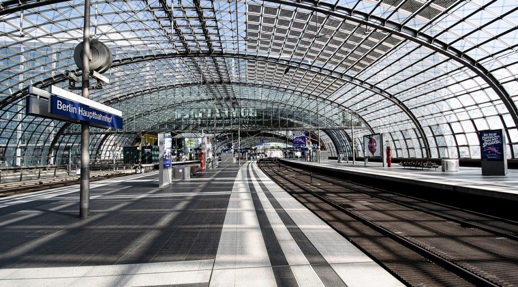Une gare à l'abandon