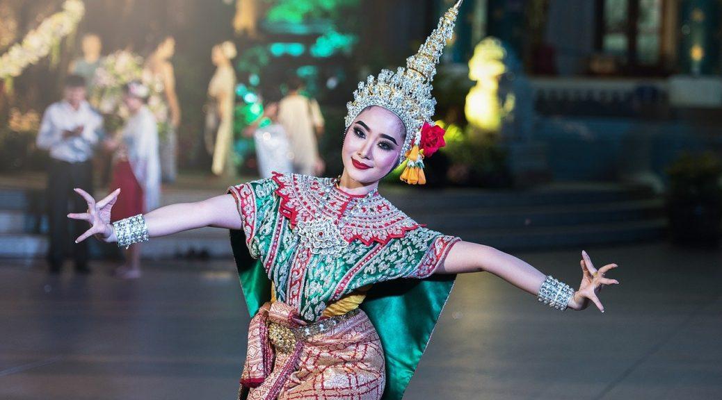 Une danseuse thailandaise